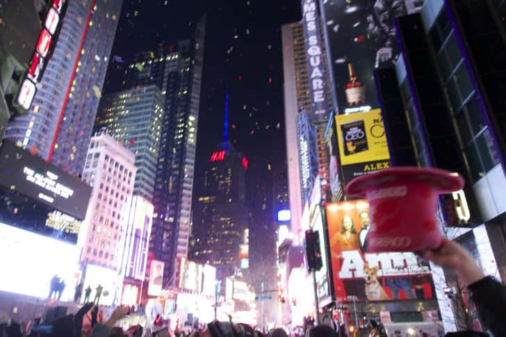 Ny timessquare countdown pictures 30