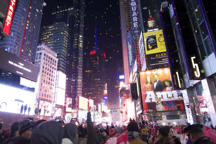 Ny timessquare countdown pictures 32