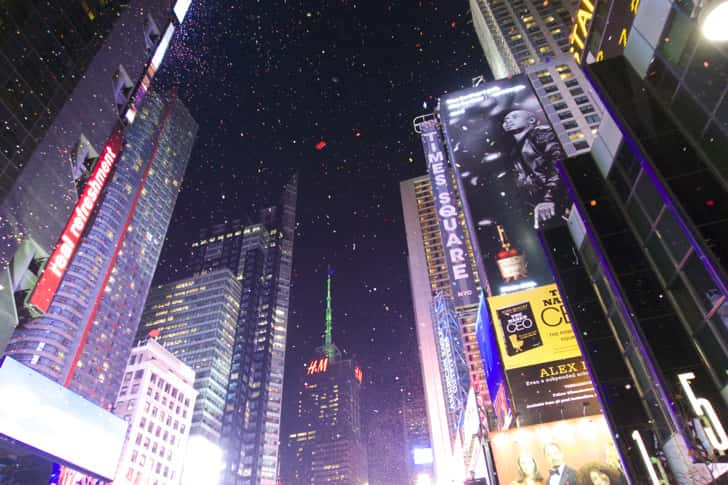 Ny timessquare countdown pictures 33