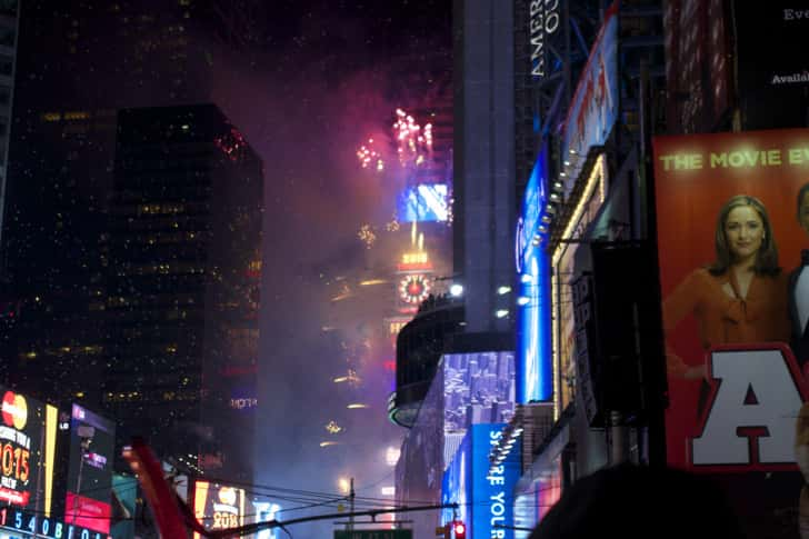 Ny timessquare countdown pictures 35