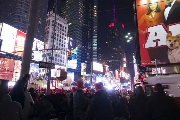 Ny timessquare countdown pictures 37