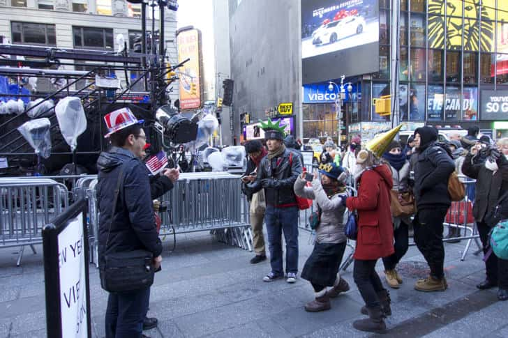 Ny timessquare countdown pictures 4