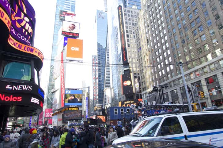 Ny timessquare countdown pictures 5