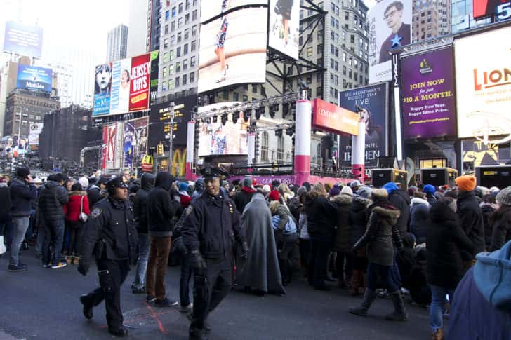 Ny timessquare countdown pictures 9