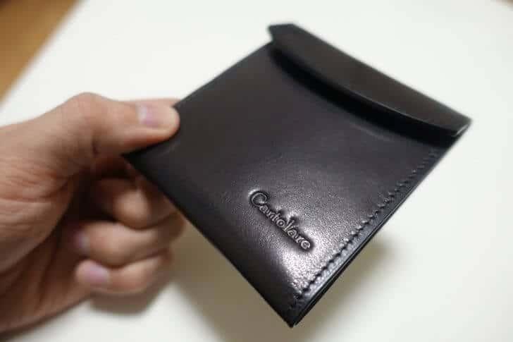Cartolare flat wallet title