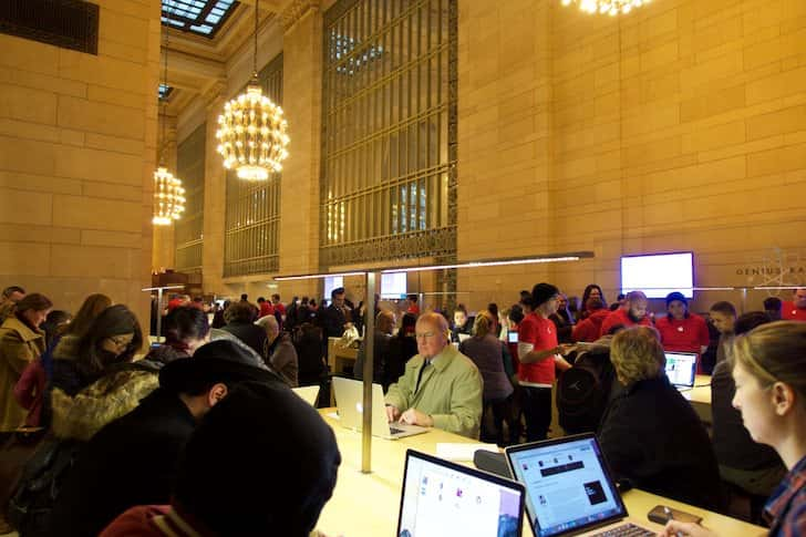 Grand central station apple store 13