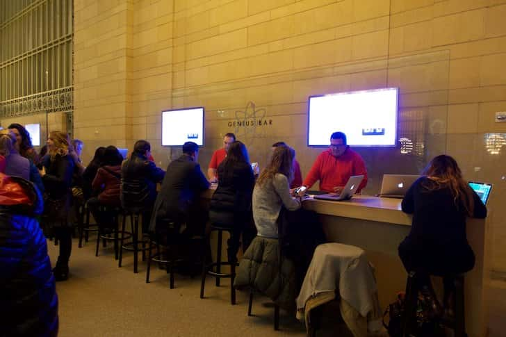 Grand central station apple store 14