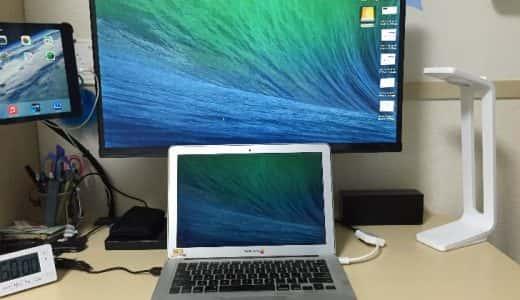 iiyama製27インチXUB2790HSをMacBookのサブディスプレイとして利用