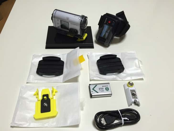 Sony actioncam hdr hs100v 2