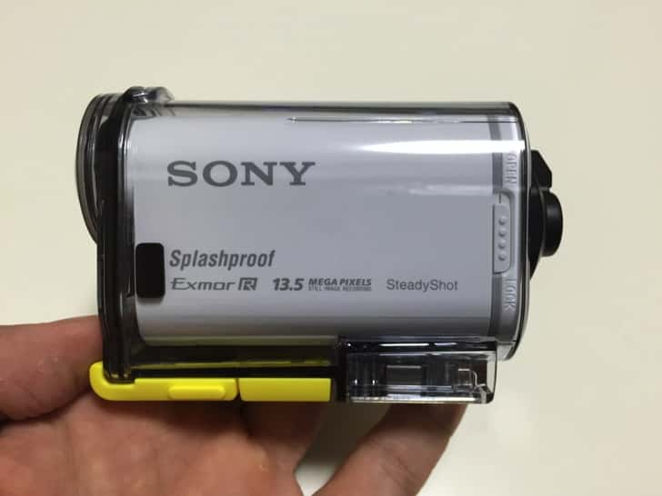 Sony actioncam hdr hs100v 3