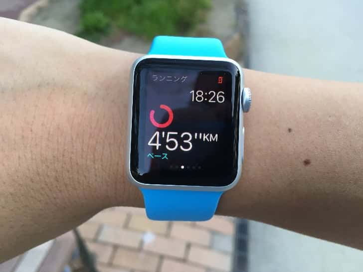 Running with apple watch 6