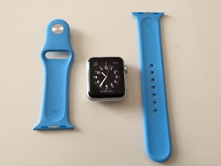 Change apple watch band 6