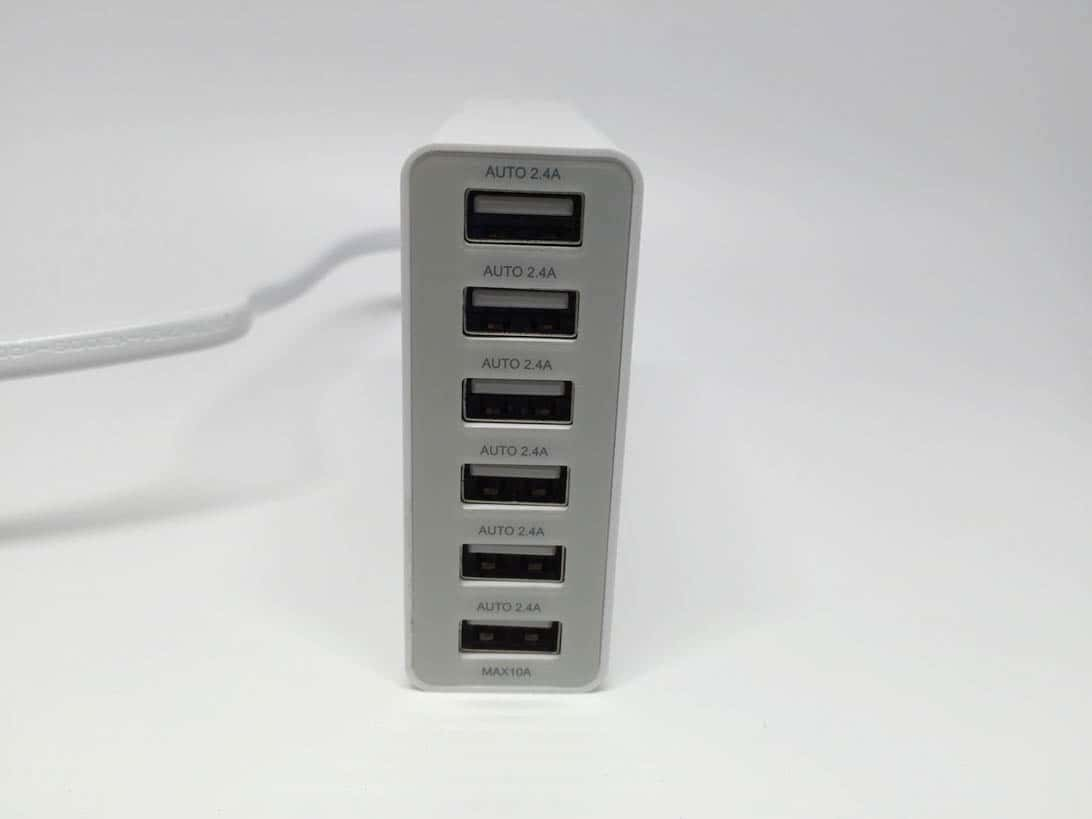 High speed usb charger 6ports 5