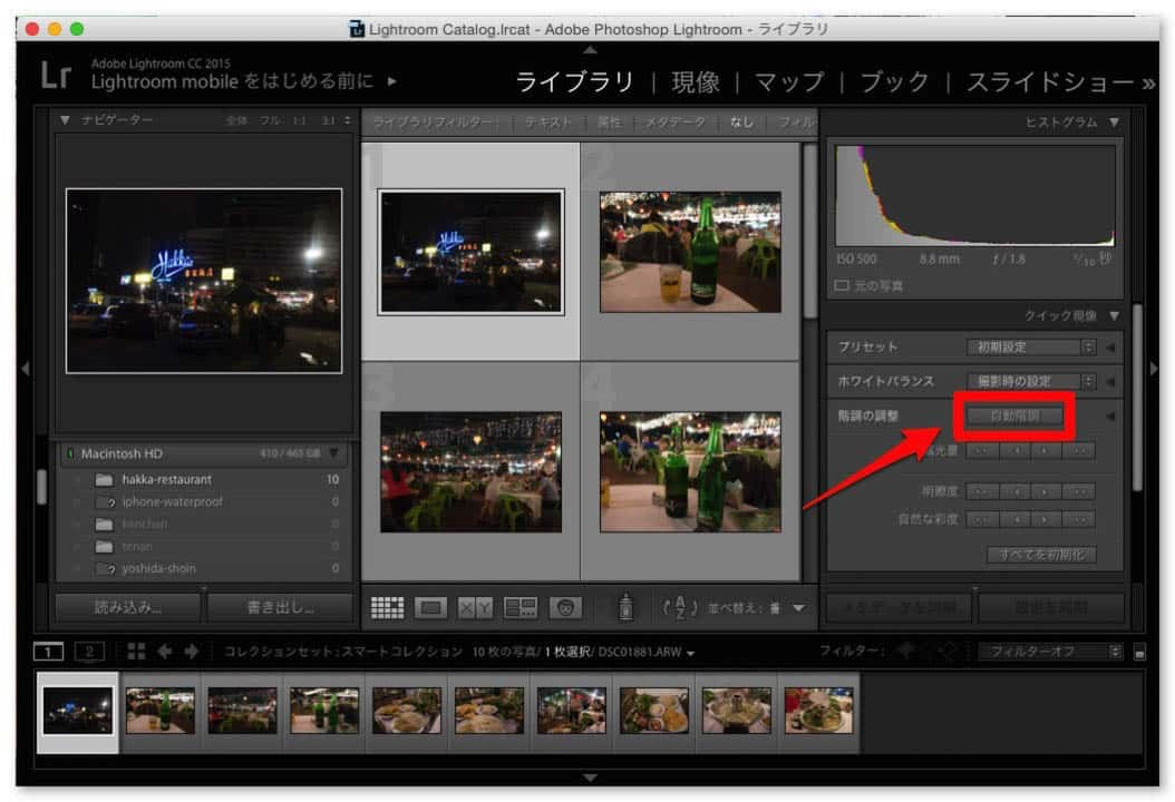 Lightroom raw photo develop easily 3