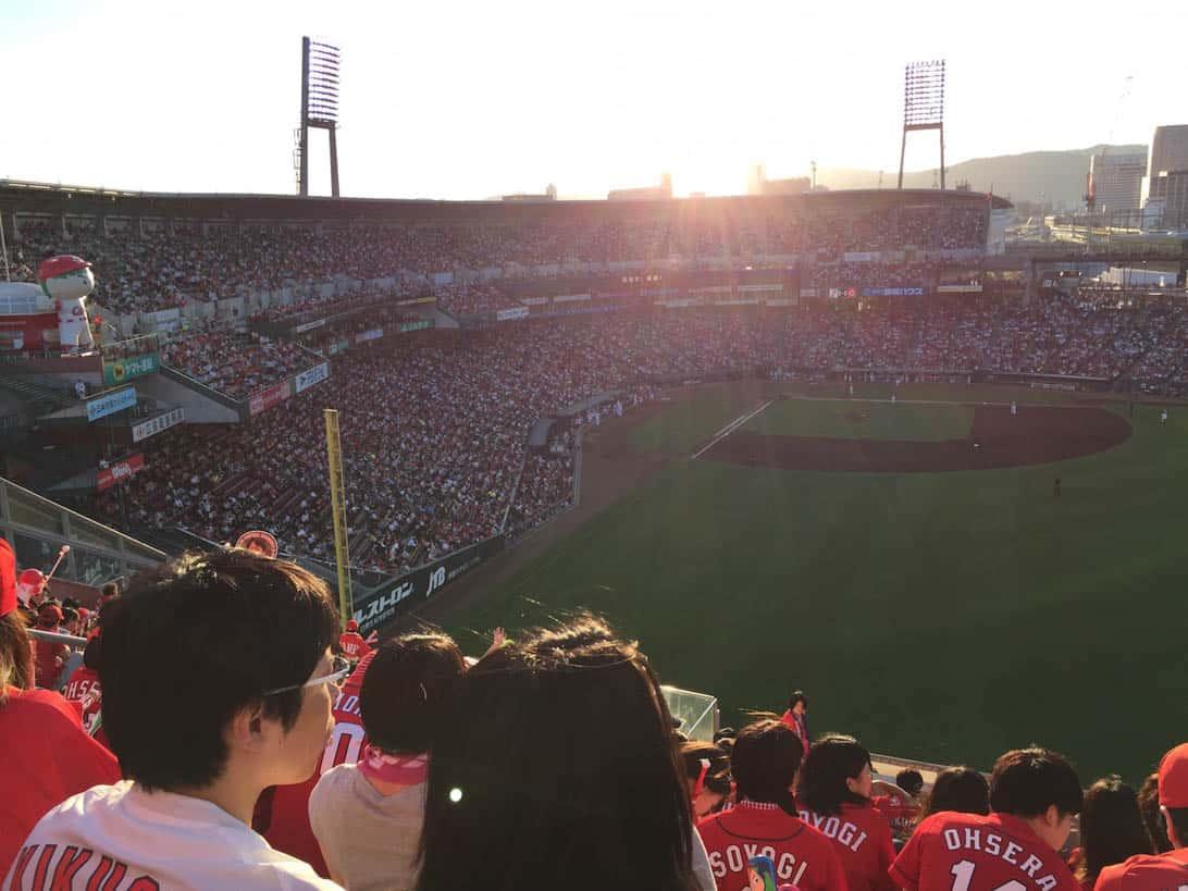 Hiroshima carp cheering 14