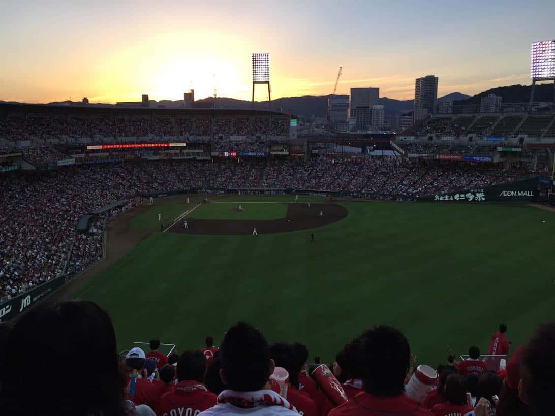 Hiroshima carp cheering 15