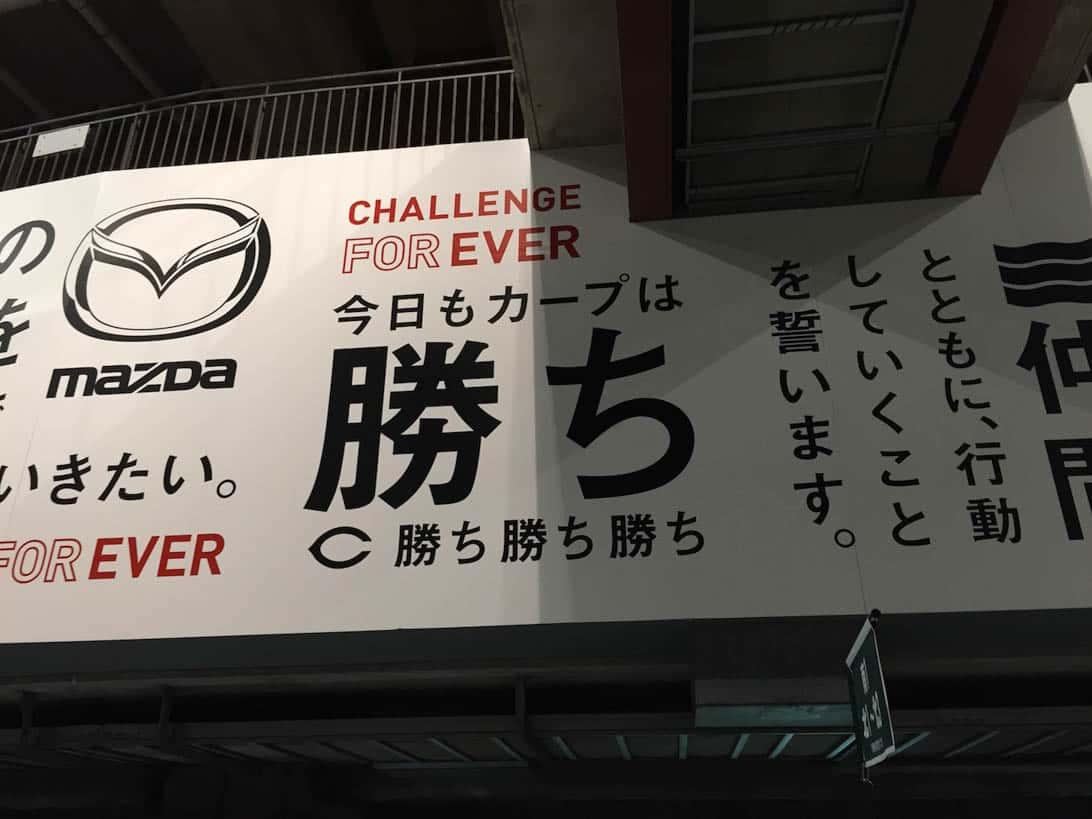 Hiroshima carp cheering 22