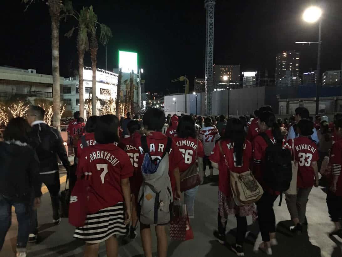 Hiroshima carp cheering 23