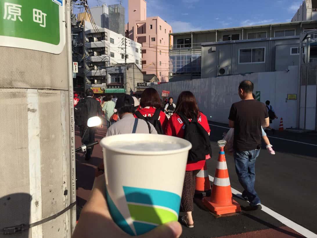 Hiroshima carp cheering 6