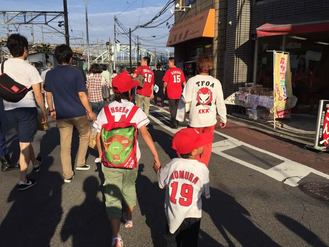 Hiroshima carp cheering 7