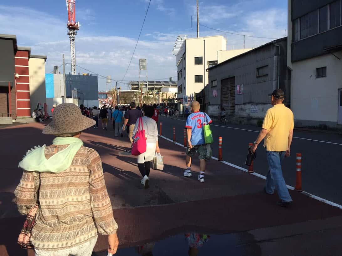 Hiroshima carp cheering 9