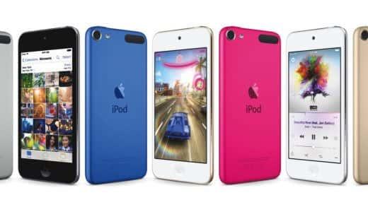 iPod touch第6世代は、前世代とどこが違うのか?比較してみた