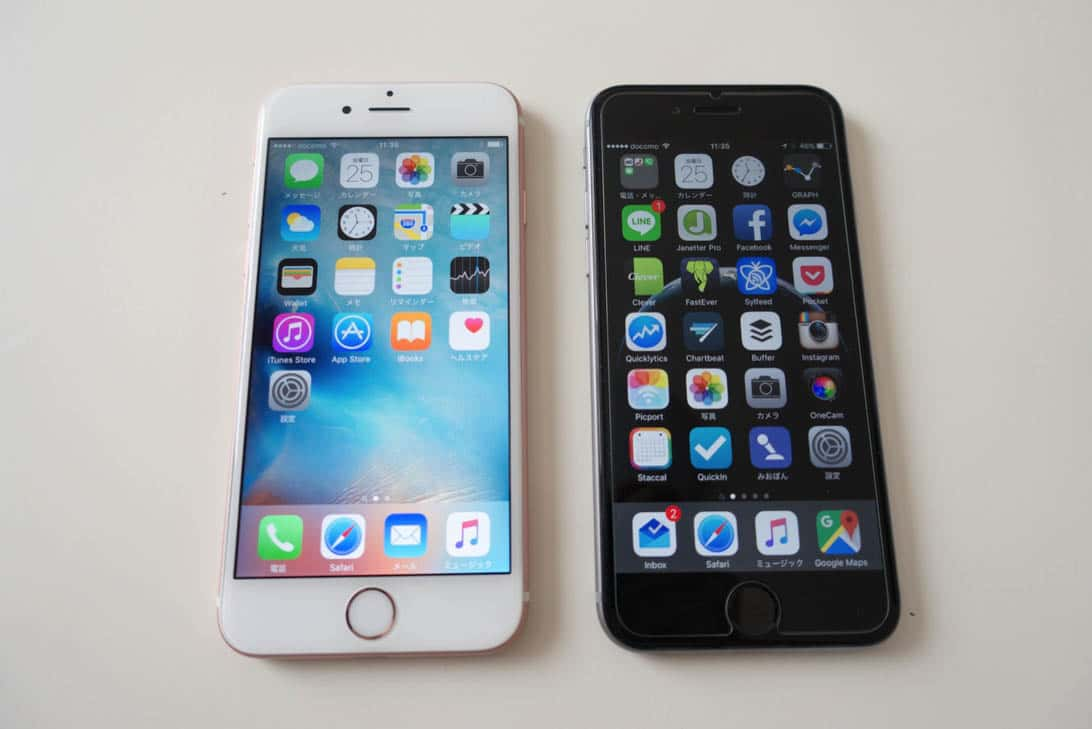 Iphone 6 6s comparison 1
