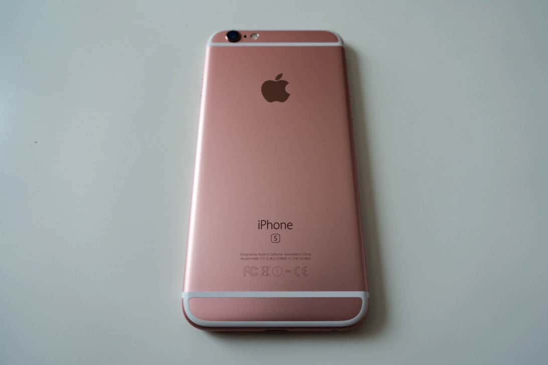 Iphone 6s rosegold review 1