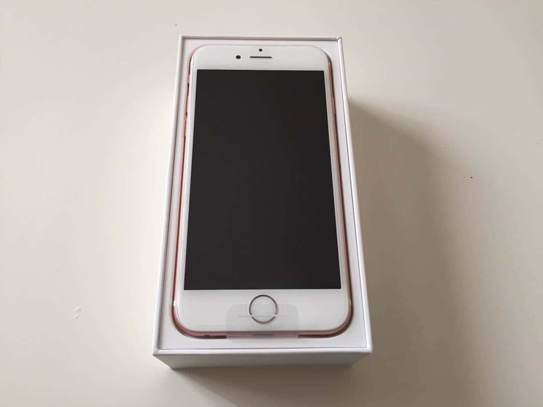 Iphone 6s rosegold review 17