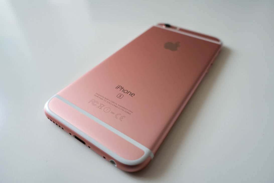 Iphone 6s rosegold review 2
