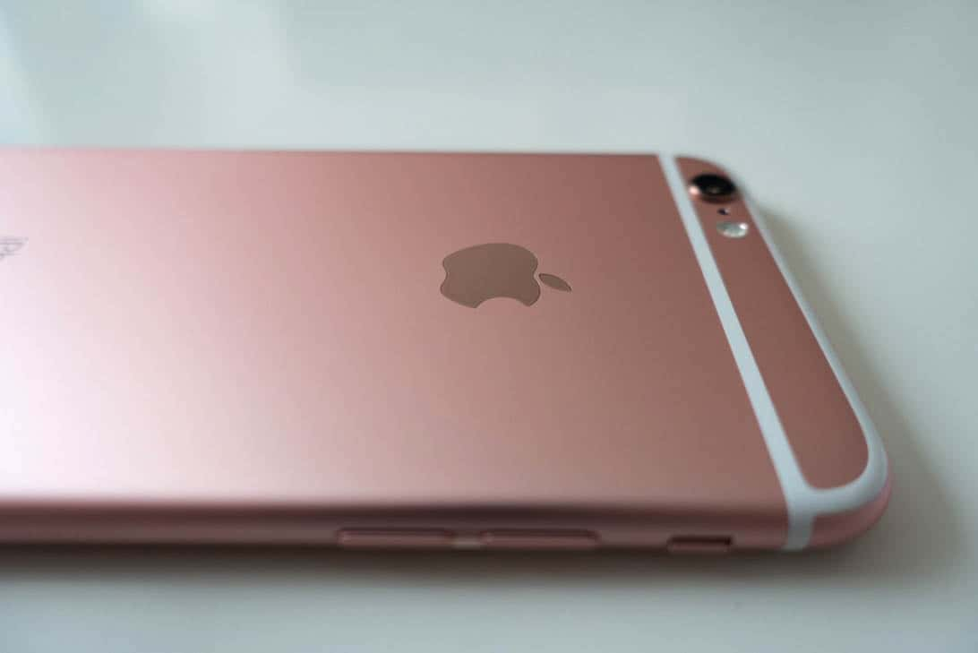 Iphone 6s rosegold review 3