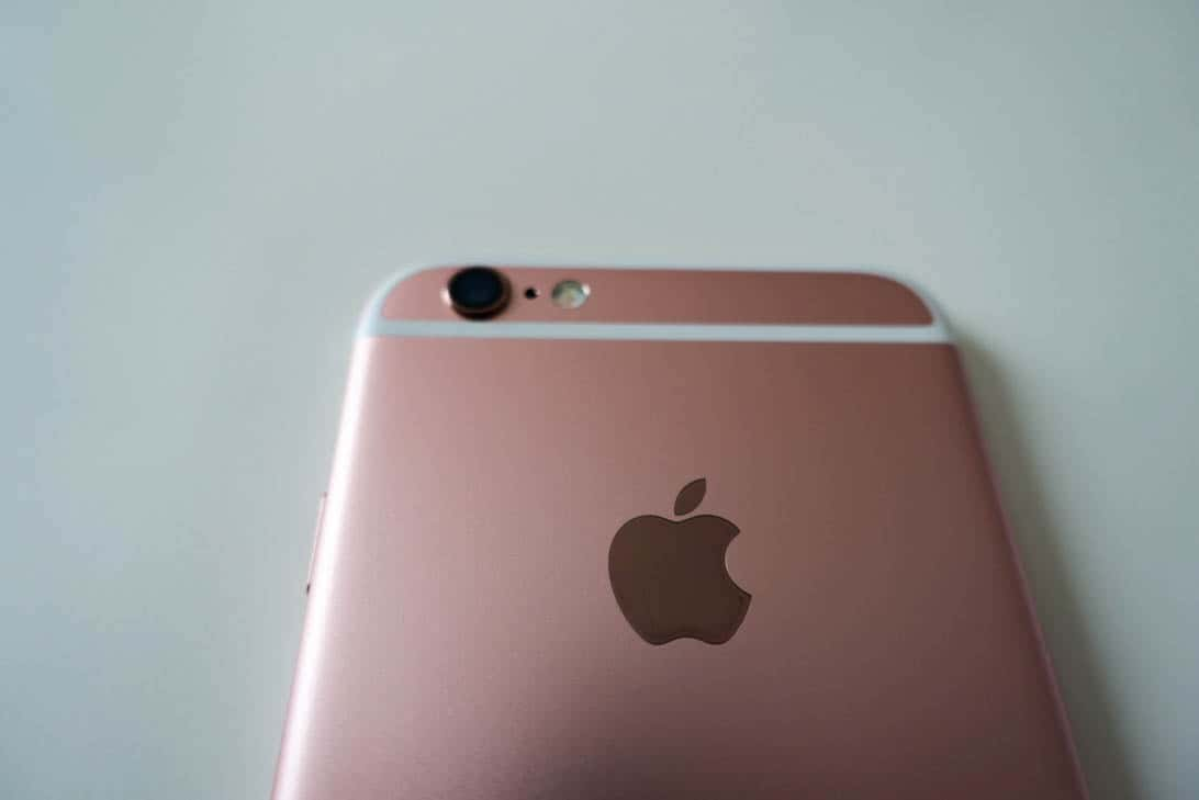 Iphone 6s rosegold review 4