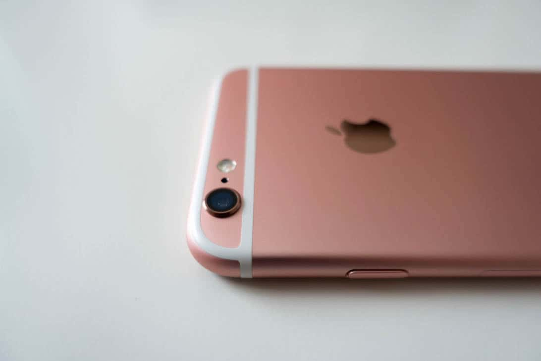 Iphone 6s rosegold review 5