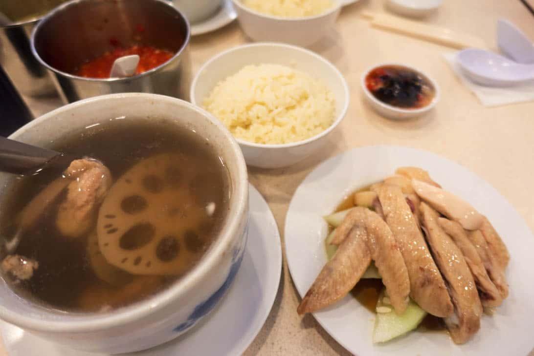 Nam heong chicken rice 9