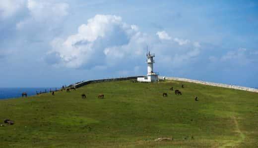 与那国島の西端(=日本最西端)を制覇!でも面白いのは馬や牛が出迎えてくれる島の東端・東崎の方だった