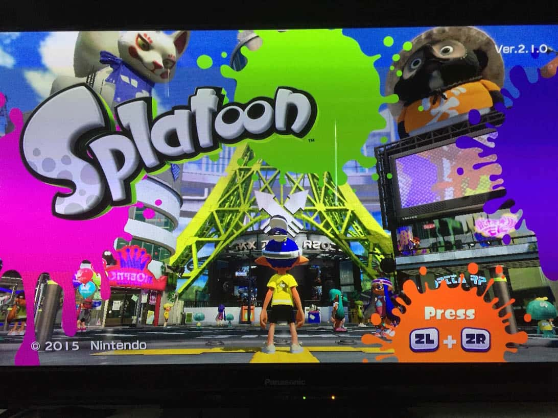 Splatoon sub account 8