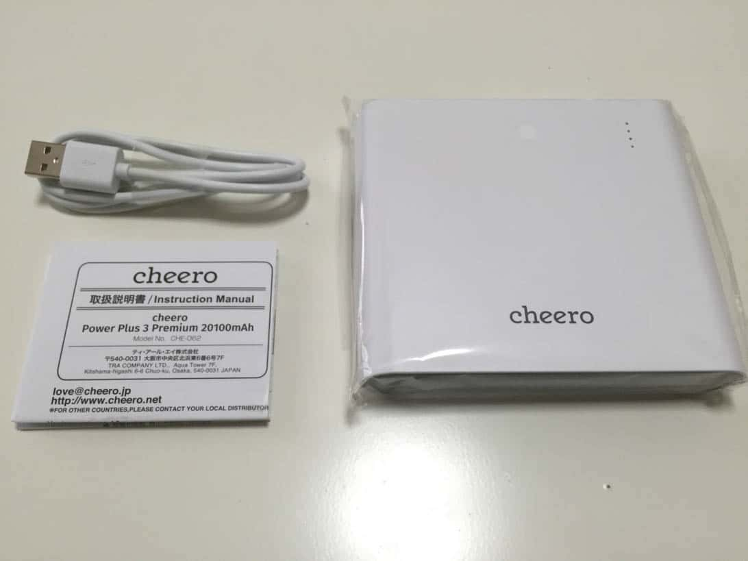 Cheero power plus 3 macbook 3