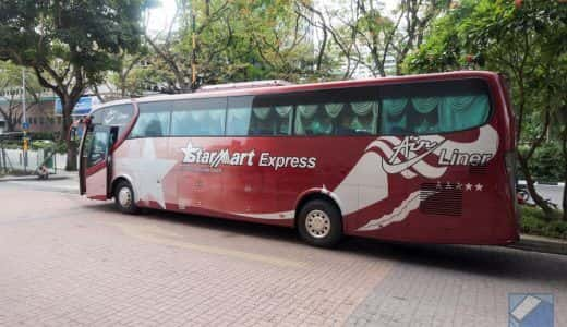 シンガポール⇔クアラルンプールのバス移動チケット購入、乗車までの流れ