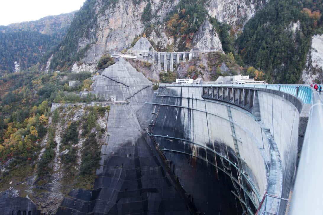 Kurobe dam 1