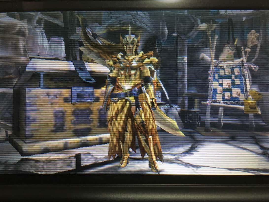 Monster hunter x aerial large sword 3