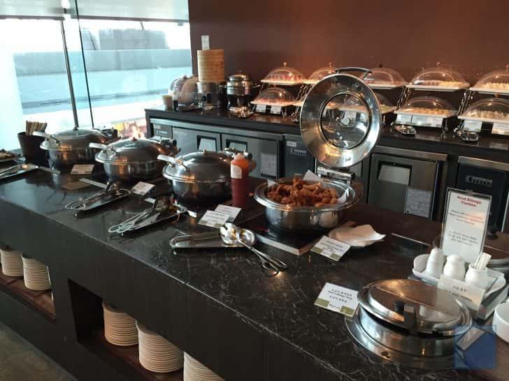 韓国インチョン空港ラウンジのご飯