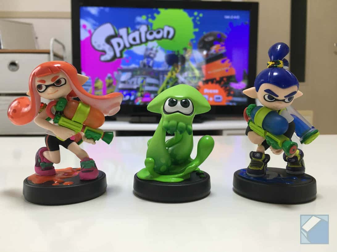 Splatoon amiibo 11