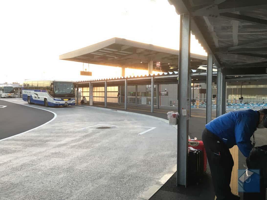 Narita airport no3 terminal by bus 9