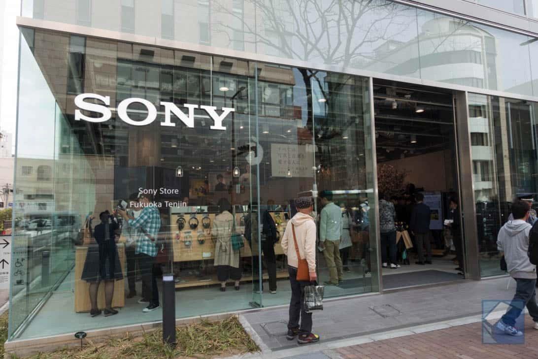 Sony store fukuoka tenjin 31