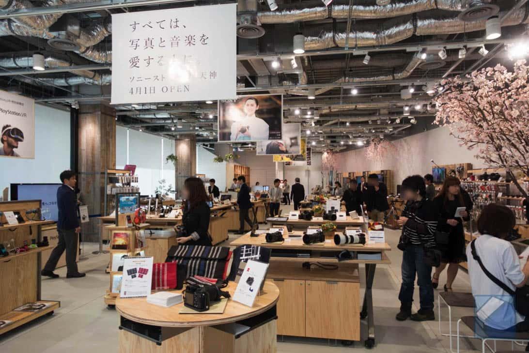 Sony store fukuoka tenjin 4