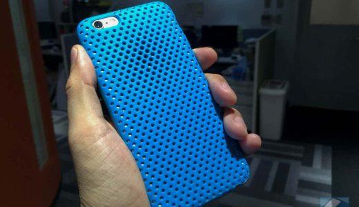 iPhoneにも夏服を!「AndMesh」夏にぴったりの涼しげなiPhone 6/6s用メッシュ型ケース
