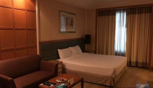 タイ・バンコクの「ジャスミンシティホテル」市街中心部にありアクセス便利、プチ豪華なホテル