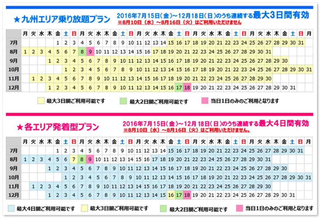 Kyushu travel discount 2