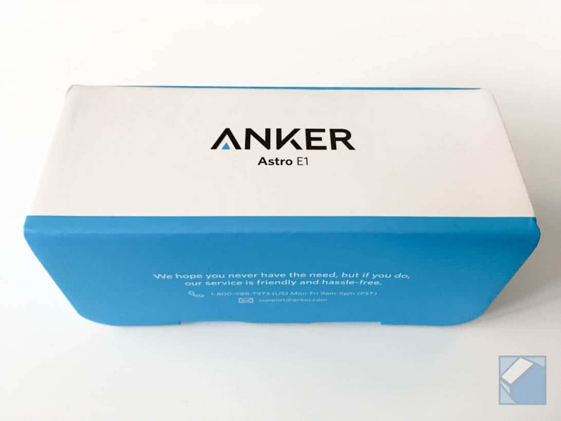 Anker battery astro e1 1
