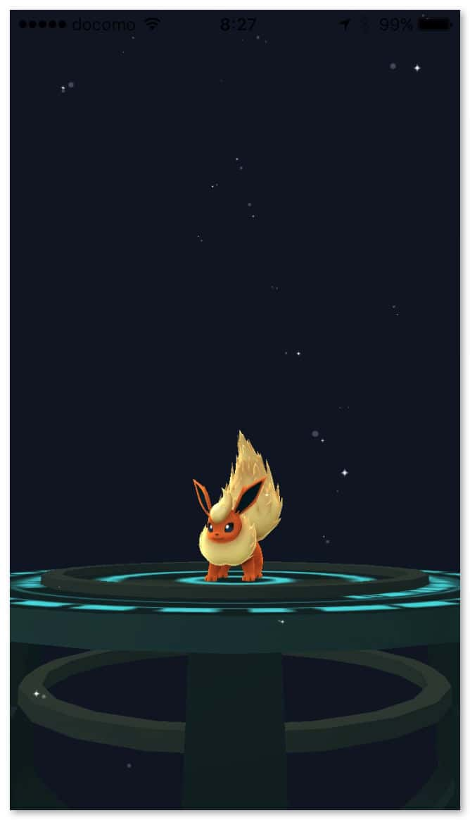 Pokemongo evolve eevee 4